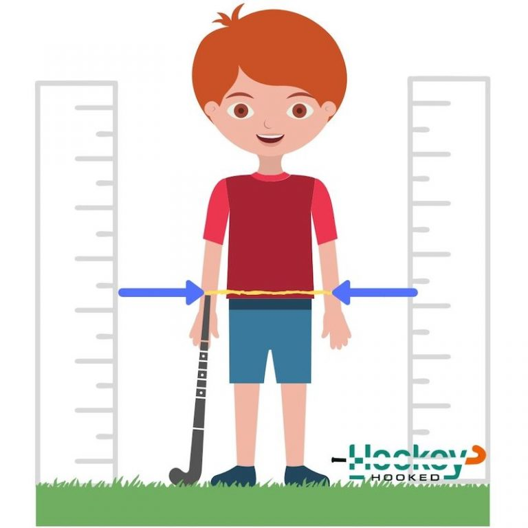 How size a hockey stick for kids