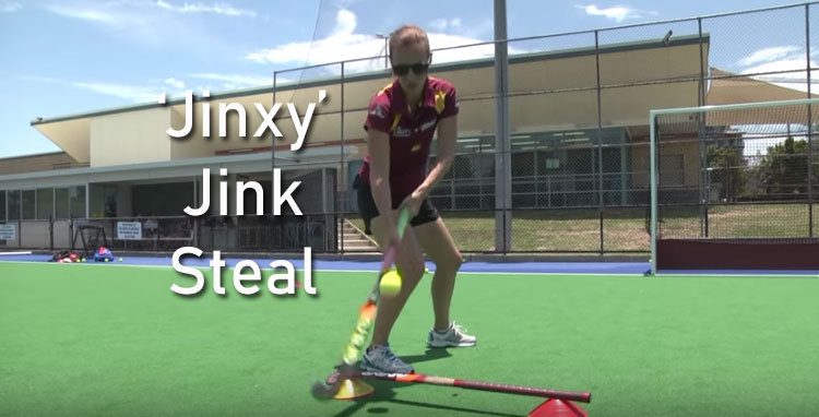 The jink steal in hockey