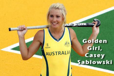 Golden girl of Australian Hockey
