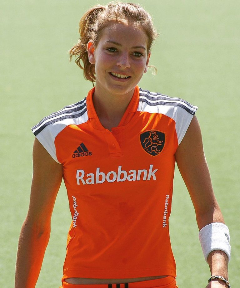 Eva De Goede FIH Player of the year