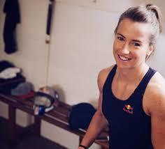 Maddie Hinch, the best women's field hockey goalkeer in the world