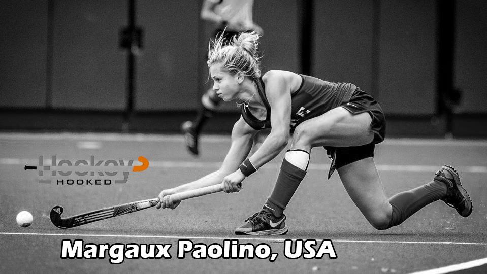 USA striker Margaux Paolino