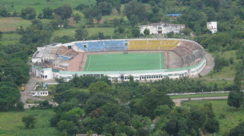 25,000-seater Biju Patnaik Stadium.