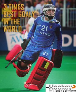Best Men's Field Hockey Goalkeeper in the World