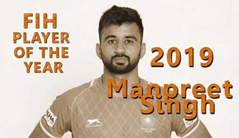 2019 FIH Men's Player of the Year: Manpreet Singh