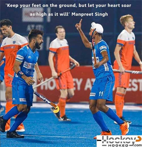 2019 FIH Player of the Year: Manpreet Singh