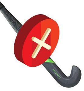 FIH Hockey blocked