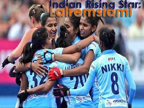 India Field Hockey Star: Lalremsiami