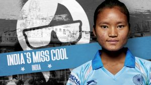 Indian Field Hockey Star, Lalremsiami